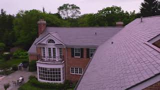Vermont Slate - Lake Forest, installed by CRC Cedar Roofing Company