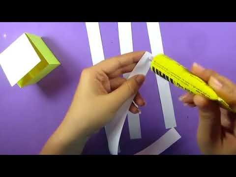 Mini game  Ami DIY  Làm hộp bí mật  Halloween Toy with surprise paper crafts