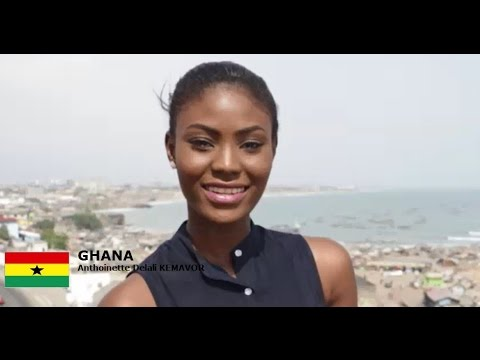 GHANA - Anthoinette Delali KEMAVOR - Contestant Introduction: Miss World 2016