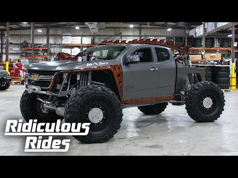 Kymera - The Utterly Insane Chevy 4X4   RIDICULOUS RIDES
