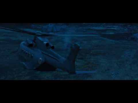 James Bond Skyfall Helicopter Arrival (rock music scene)