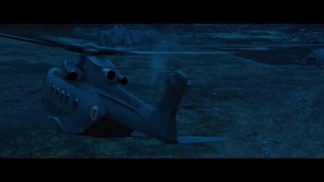 Elicottero 007 : James bond skyfall helicopter arrival rock music scene youtube
