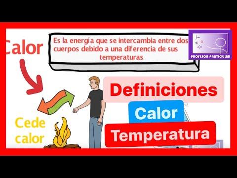 Calor y Temperatura-Conceptos Física