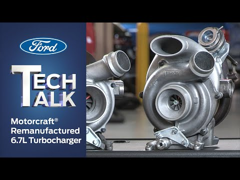 Motorcraft Remanufactured 6.7L Turbocharger | Ford Power Force Tech Talk