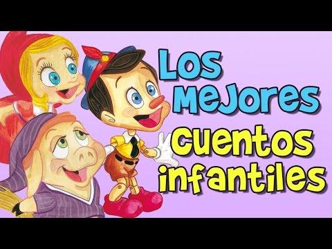 """""""pinocho,-los-tres-cerditos,-caperucita-roja,-blancanieves""""---cuentos-infantiles-en-español,-cuento"""