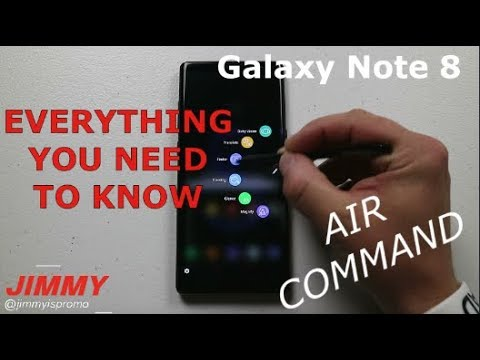 AIR COMMAND In-Depth Tutorial - Galaxy Note 8
