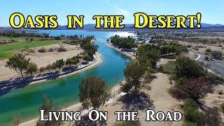 Oasis in the Arizona Desert! - Living in a Van On the Road