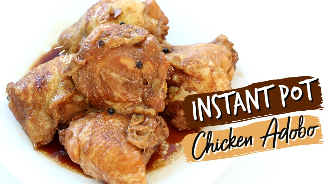 Instant Pot Chicken Adobo 365 Days Of Slow Cooking And Pressure Cooking