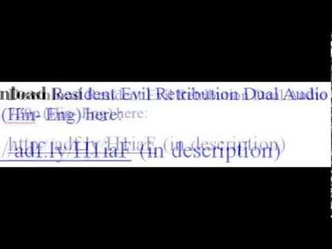 Resident Evil Retribution Dual Audio 720p (Hin- Eng) Download