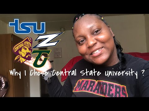 Why I Chose Central State University ????????�??????