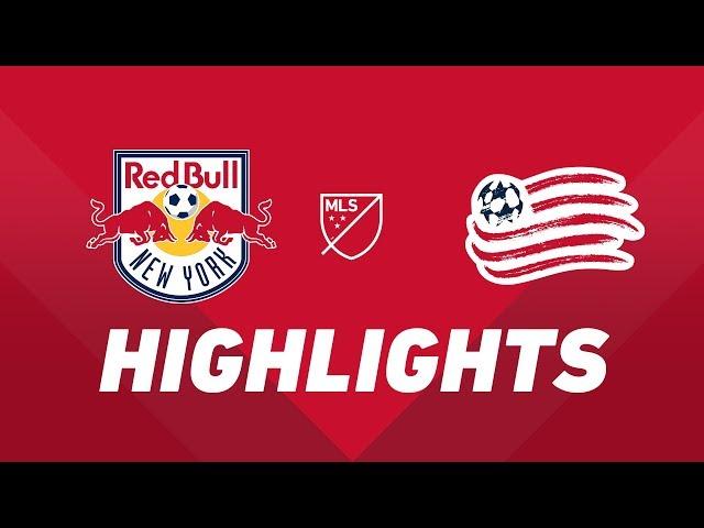 New York Red Bulls vs. New England Revolution   HIGHLIGHTS - August 17, 2019