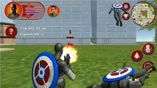 ►2 Super American Captain (Play Strategy Games) Android Gameplay - Epi