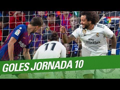 Todos los goles de la Jornada 10 de LaLiga Santander 2018/2019