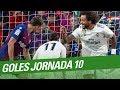 Todos los goles de la Jornada 10 de LaLiga Santand