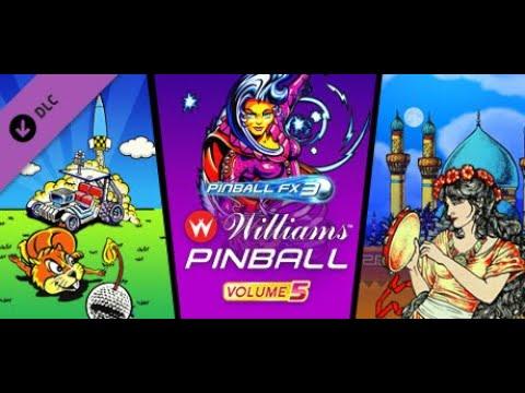 Pinball FX3 - Williams™ Pinball: Volume 5 - Die 3 Flippertische