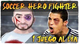 👉 SOCCER HERO FIGHTER | PELEAS SALVAJES DE FUTBOLISTAS | 1 JUEGO AL DÍA | JUEGOS ANDROID GRATIS