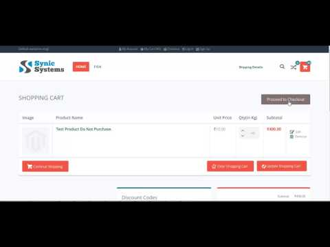 Synic SMS - Magento Checkout COD Order Payment OTP SMS Verification by Synicsys
