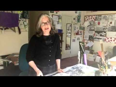 Studio Visit for Children's Book Illustrator, Patricia Keeler