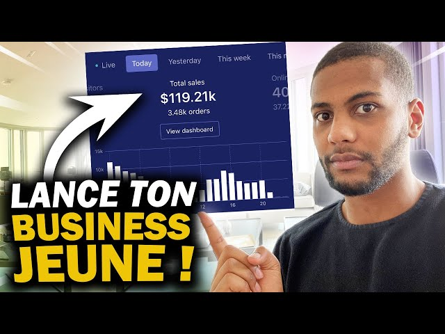 COMMENT LANCER UN BUSINESS QUAND ON EST JEUNE ( Dropshipping, Trading, Amazon FBA, Etc )