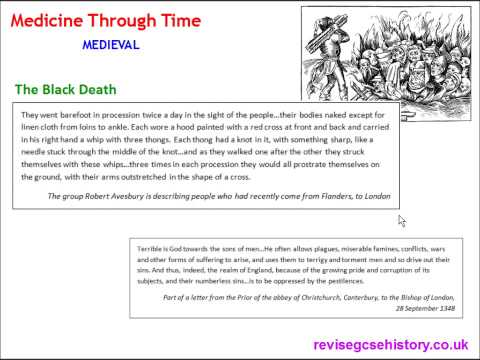 Medicine Through Time - Medieval - The Black Death of 1348