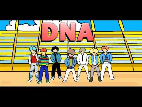 BTS DNA PAINT (ANIMATION)