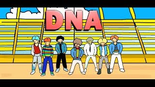 BTS-DNA FARBE (ANIMATION)