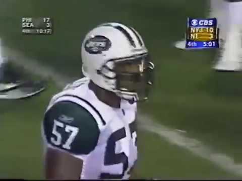 2001 - Mo Lewis Hit on Drew Bledsoe