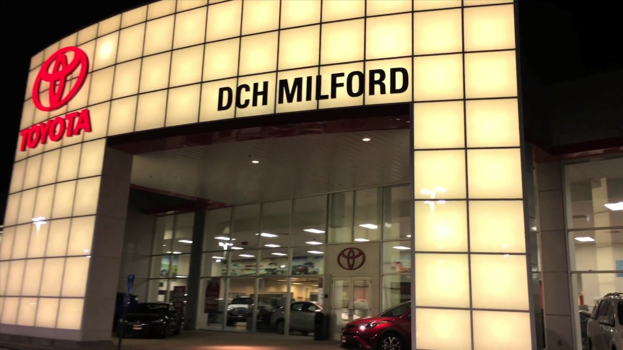 DCH Toyota Of Milford   Great Toyota Service