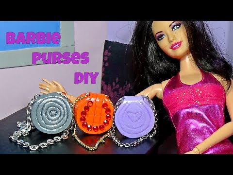Diy doll purse │ How to make a purse for Barbie │ DIY For Dolls