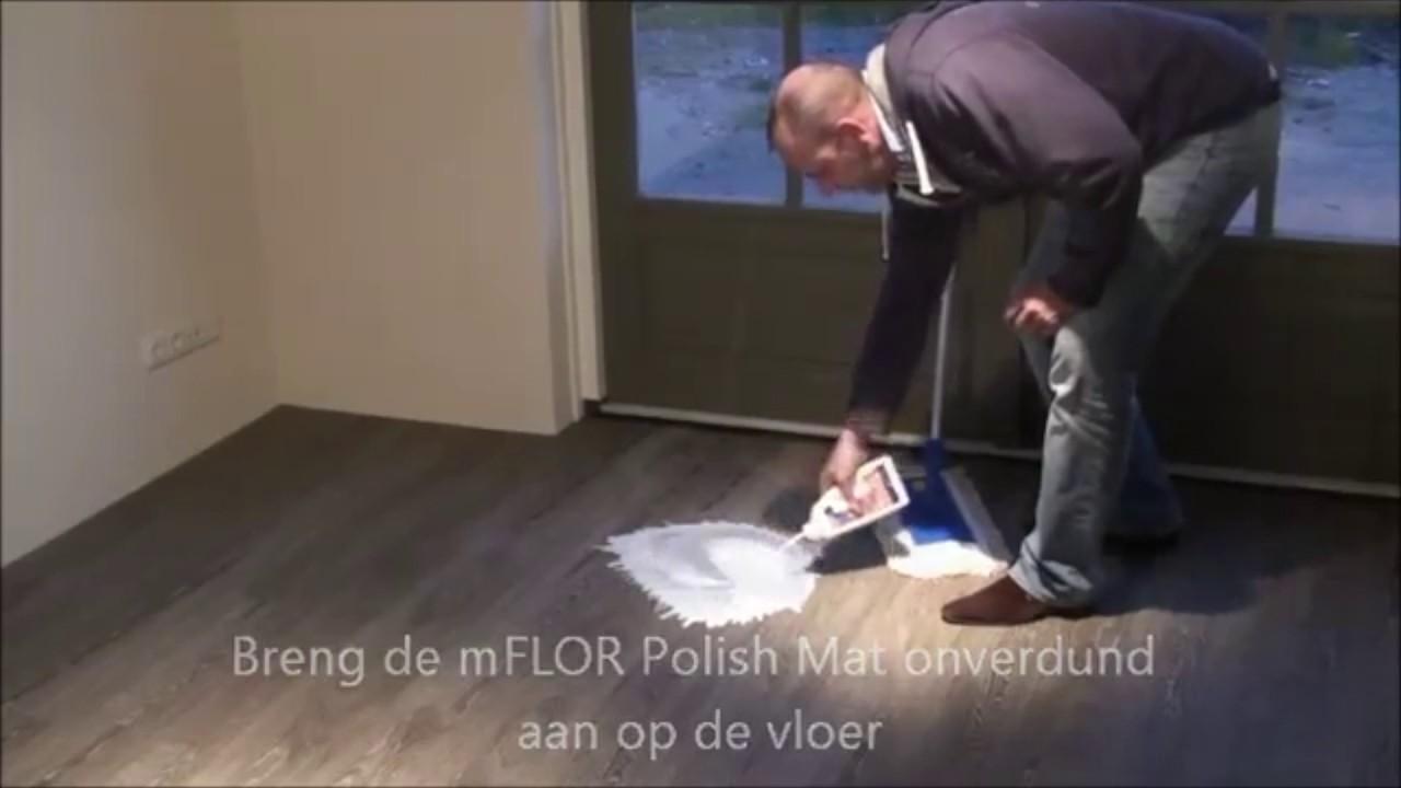 Cleanen en polishen van een mflor pvc vloer stappenplan youtube