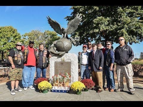 Philadelphia's Beirut Marines Memorial 34th Anniversary 10-22-2017
