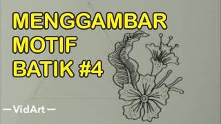 Menggambar Motif Batik #4
