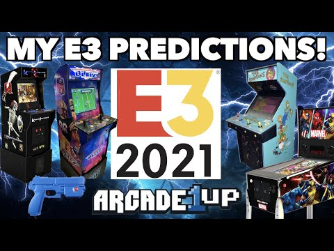 My E3 2021 Arcade1Up Predictions! | Killer Instinct Release Date? The Simpsons? NFL Blitz?! from Killer Arcade Games