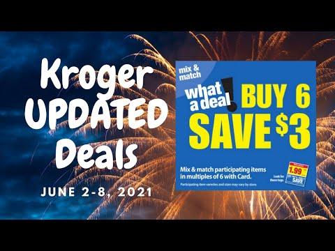 Kroger *UPDATED* Deals for 6/2-6/8 | *MORE* Mega Deals & Updates