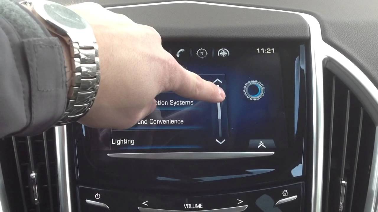 2013 Cadillac SRX Setting Adaptive Remote Start Heated Seats - YouTube