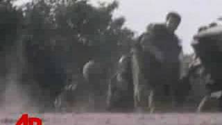 Raw Video: Intense Firefight in Georgia