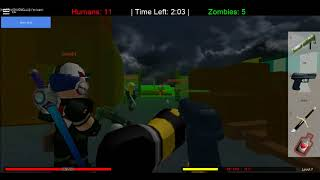 Roblox Humans vs Zombies #3: HUMAN AGAIN!!!!!!