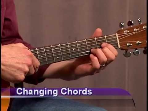 Beginner Guitar Chords - Learn how to change chords FASTER !