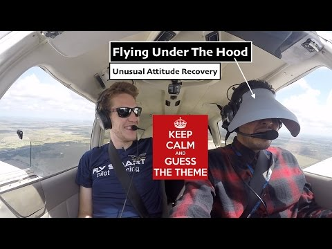 Student First Time Under The Hood  PA28