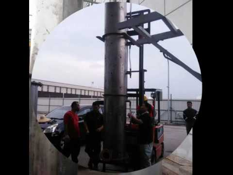 Malaysia Industrial Water Scrubber - Installation