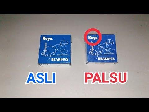 Cara Membedakan Bearing ASLI & PALSU