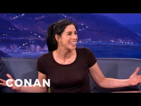 Bedwetter Sarah Silverman Makes Disney Dirty - CONAN on TBS