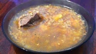 Гречневый суп в мультиварке./ Buckwheat soup