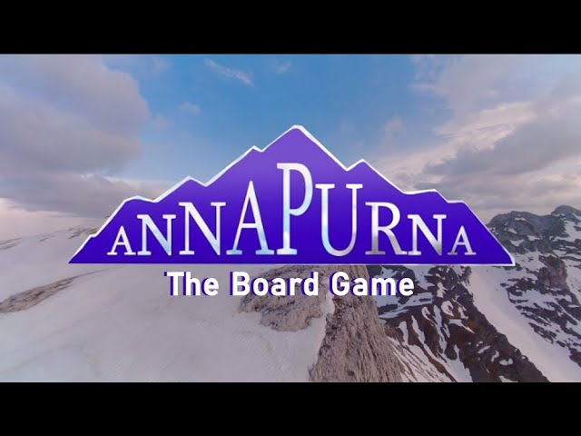 Annapurna the Board Game (TRAILER 2020)