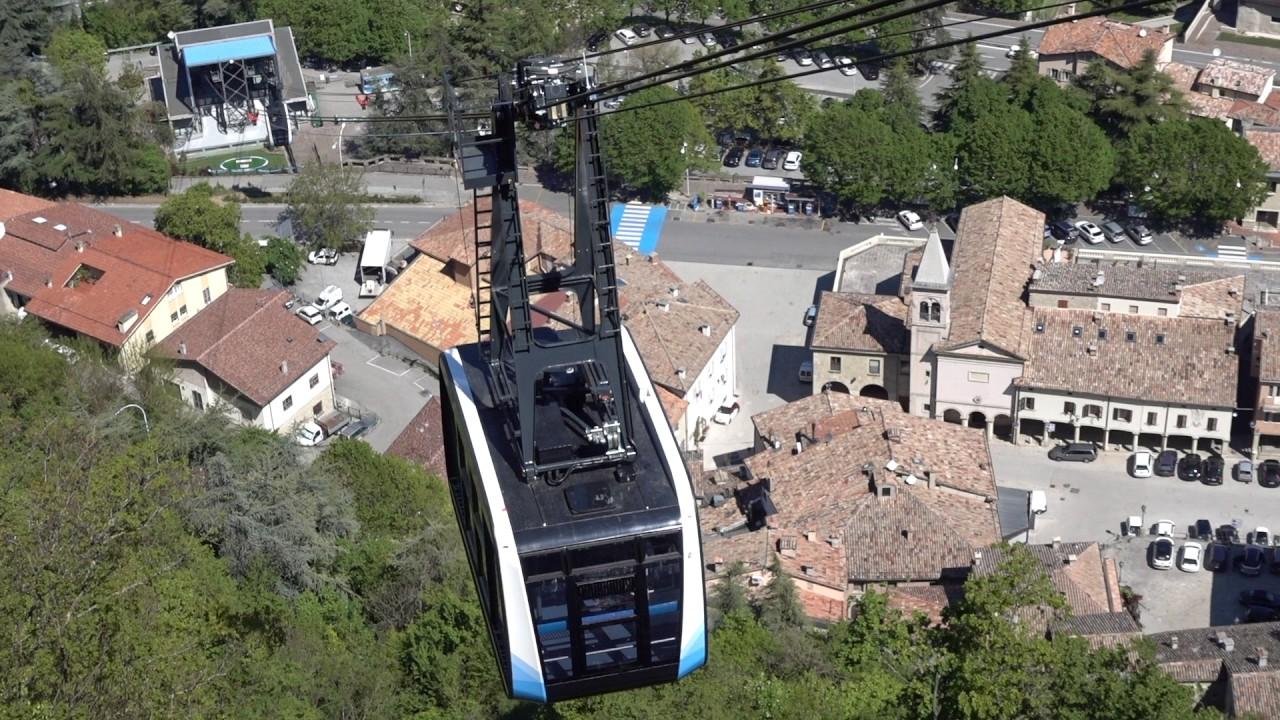 Una corsa sulla nuova Funivia San Marino - My San Marino - GiRaStyle ...