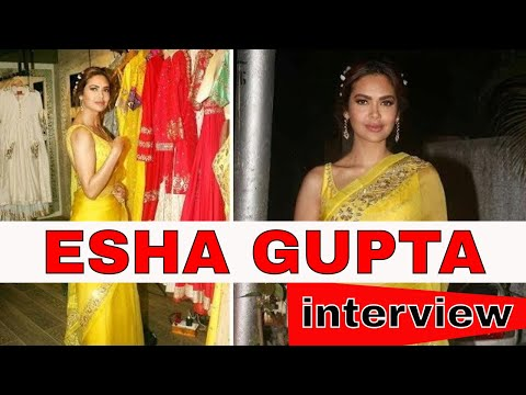 Esha Gupta interview About Her Upcoming Projects | Latest Celebrities Interview 2018