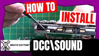 How To Install DCC\\Sound In C44-9W From ScaleTrains - DaBob's ManCave