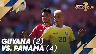 Guyana (2) vs. Panama (4) - Gold Cup 2019