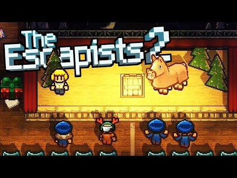 ESCAPING the CHRISTMAS NIGHTMARE! - The Escapists 2 Gameplay