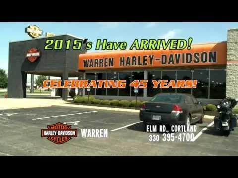 Warren Harley Davidson 2015 Arrivals August 2014 - YouTube